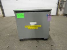 REX E-rated 150 KVA Electrical Transformer - 480 Delta to 480Y / 277V 3 phase
