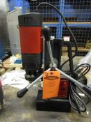 """Mag Drill with 5/8"""" Chuck - 0.9"""" drilling range - Magnetic CORE DRILL 110V - MINT & UNUSED"""
