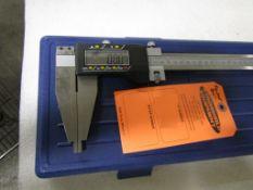 "BRAND NEW Fowler 24"" / 600mm Digital Caliper - large digital readout display in case - MINT"