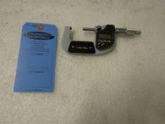 "Mint 1-2"" / 25-50mm Digital Micrometer in case BRAND NEW"