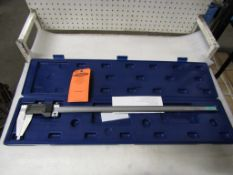 "BRAND NEW Fowler 24"" / 600mm Digital Caliper - large digital readout display in case - MINT"