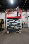 SkyJack model 4626 III Motorized Scissor Lift Unit with NON-MARKING Tires - 26 foot lift