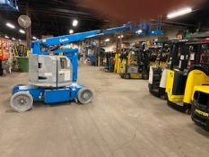MINT Genie Boom Lift model Z-30/20N with 30' high and 21' Reach with LOW hours