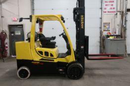 FREE CUSTOMS - 2015 Hyster 12000lbs Capacity Forklift NICE UNIT - sideshift LPG (propane) (no
