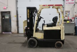 FREE CUSTOMS - 2014 Hyster 5000lbs Capacity Forklift with 4-stage mast - ELECTRIC with sideshift