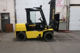 FREE CUSTOMS - Hyster 8000lbs Capacity OUTDOOR Forklift Diesel with sideshift DUAL FRONT TIRES