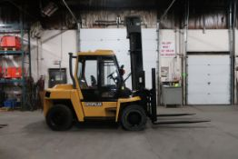 """FREE CUSTOMS - CAT 15500lbs Capacity OUTDOOR Forklift Diesel with sideshift DUAL FRONT TIRES 72"""""""