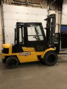 FREE CUSTOMS - CAT 8000lbs Capacity OUTDOOR Forklift Diesel with sideshift with DUAL FRONT TIRES