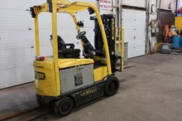 FREE CUSTOMS - 2011 Hyster 5000lbs Capacity Forklift with 3-stage mast - electric with sideshift &