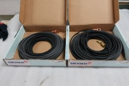 Lot of 2 (2 units) Brand New Messer Gas Hoses