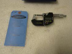 "Mint 0-1"" / 0-25mm Digital Micrometer in case BRAND NEW"