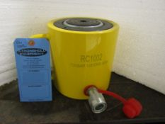"""RC-1002 MINT - 100 ton Hydraulic Jack with 2"""" stroke type cylinder"""