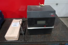 Pyramid Time Systems Heavy Duty Time Clock Document and Job Recorder model 3700