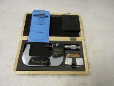 "Mint 2-3"" / 50-75mm Digital Micrometer in case BRAND NEW"