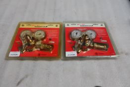 Lot of 2 (2 units) BOC Industrial BRAND NEW torch regulators