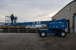 MINT Genie Zoom Boom Lift model S60 with 60' height 4x4 with extendable axles with 4WD with LOW