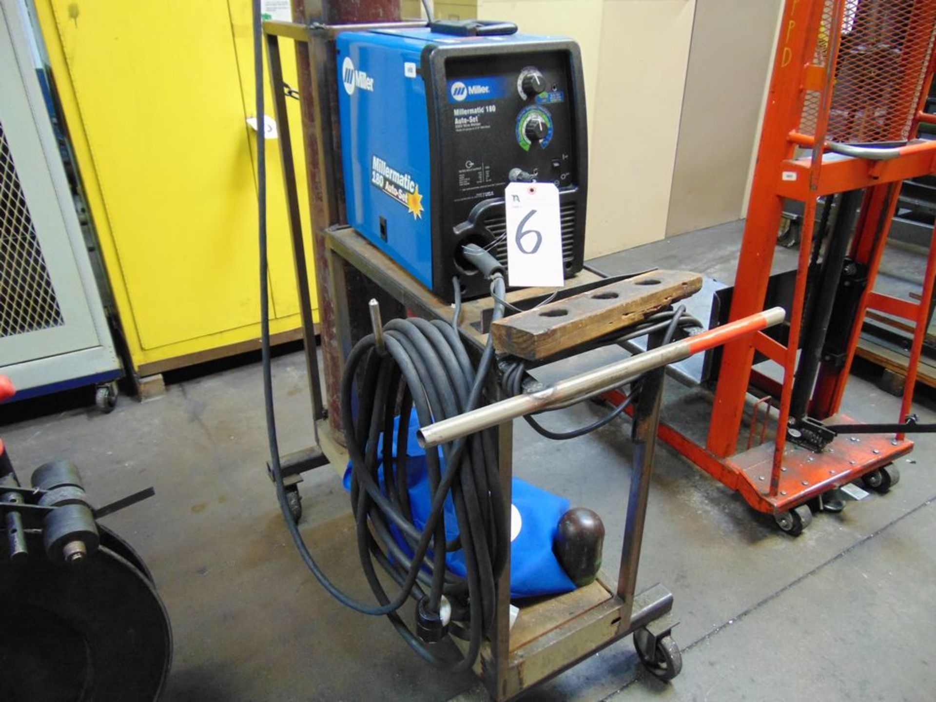 Lot 6 - Miller mod. Millermatic 180, 180 Amp Wire Welder (No Tank); S/N LK240887N
