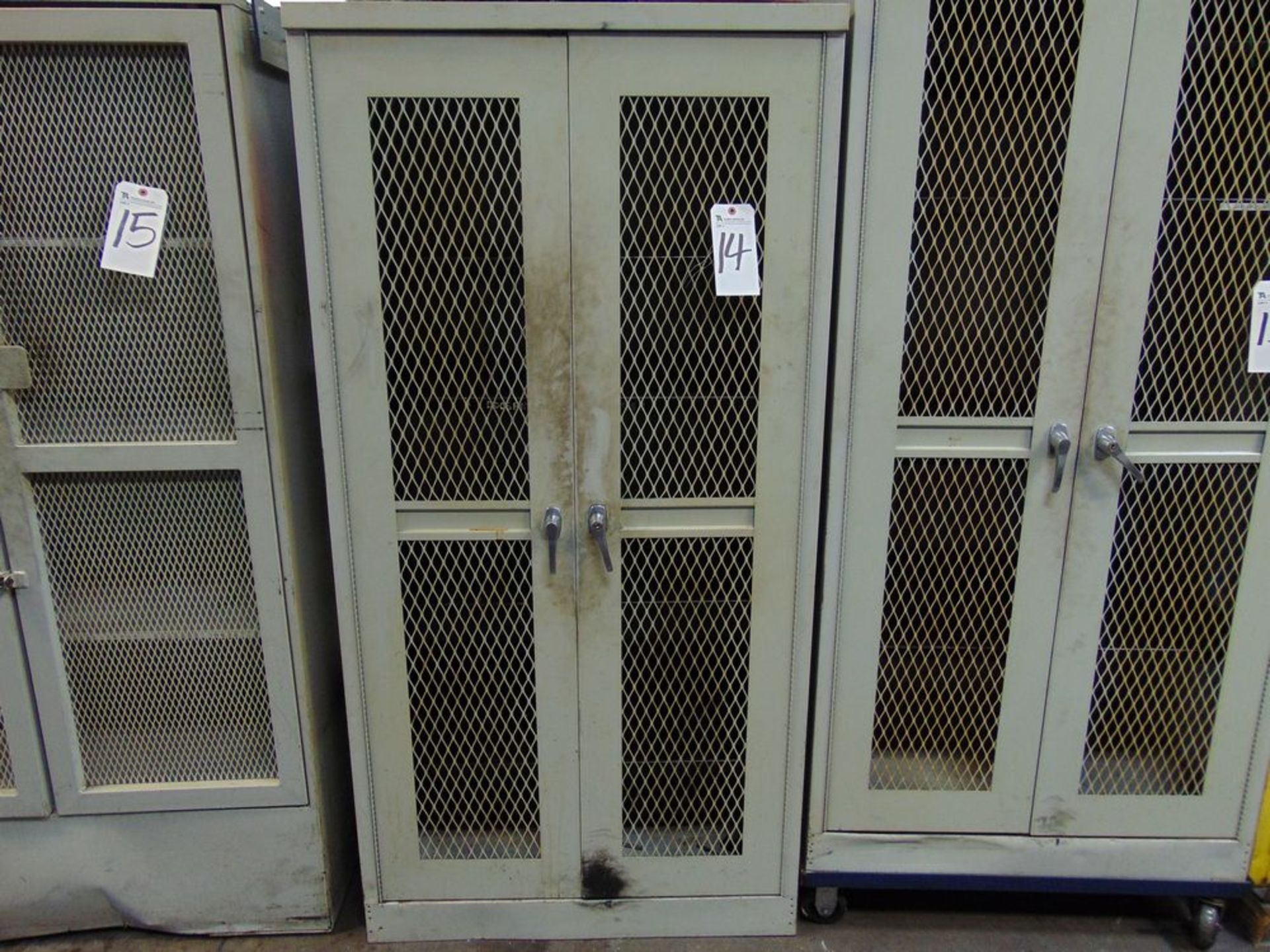 "Lot 14 - Steel Storage Cabinet, 36"" x 24"" x 78"""