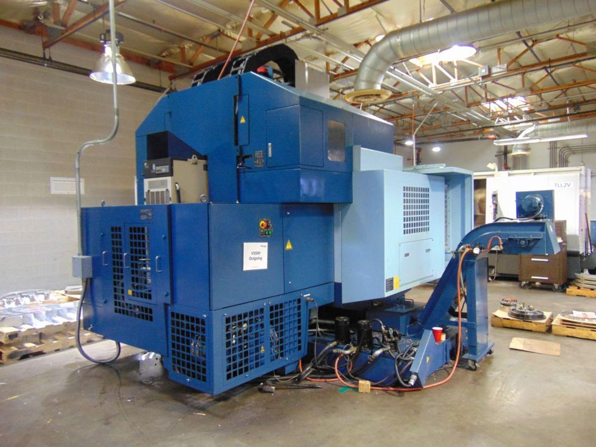 Lot 30 - (2000) Matsuura mod. MC1000 VGDC, 5-Axis CNC Vertical Machine Center, ATC, Turbo Chip Conveyor (No