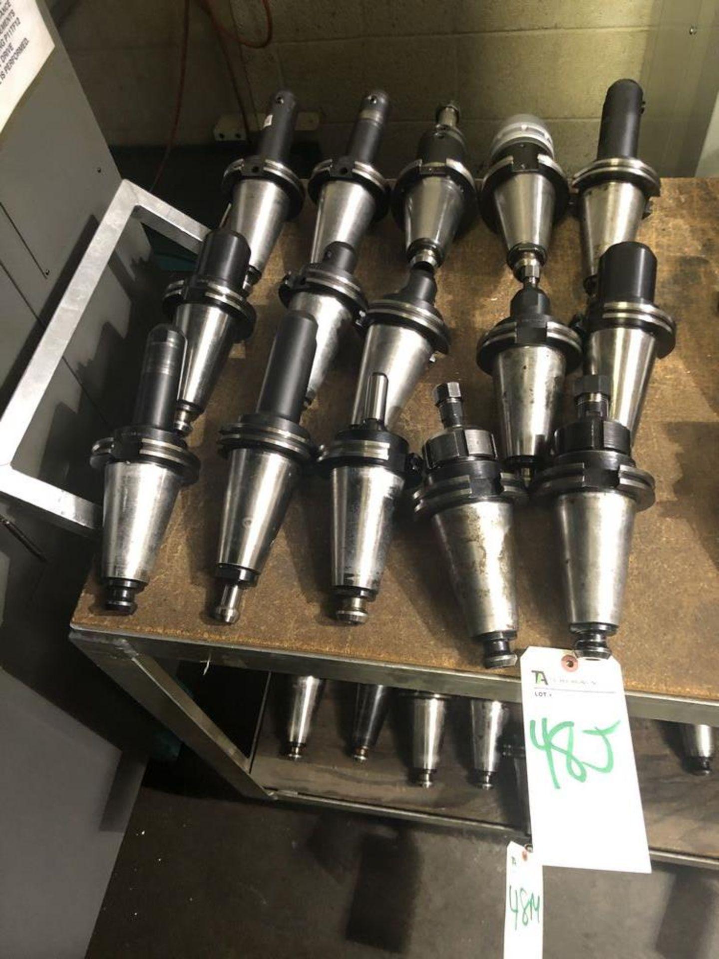 Lot 48j - Tecnara & Others, 50 Taper Tool Holders