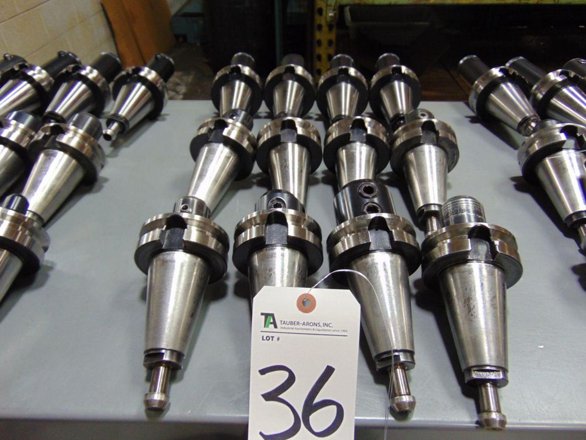 Lot 36 - Tecnara & Others, 45 Taper Tool Holders