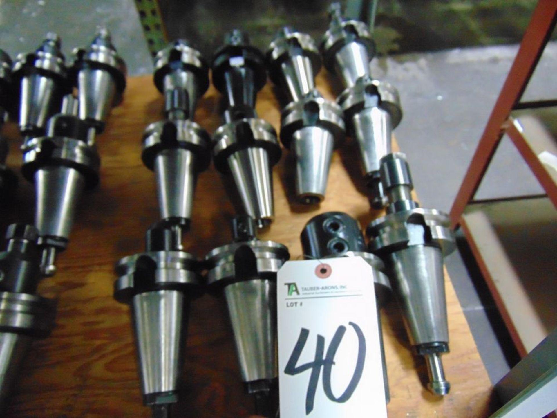 Lot 40 - Tecnara & Others, 45 Taper Tool Holders