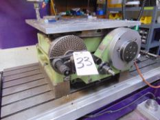 """Watter mod. RS500G, 24"""" Rotary Table S/N 2683"""