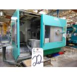 (1998) Deckel Maho mod. DMU80P, 5-Axis CNC Horizontal Machine Center, Knuckle Joint Head,