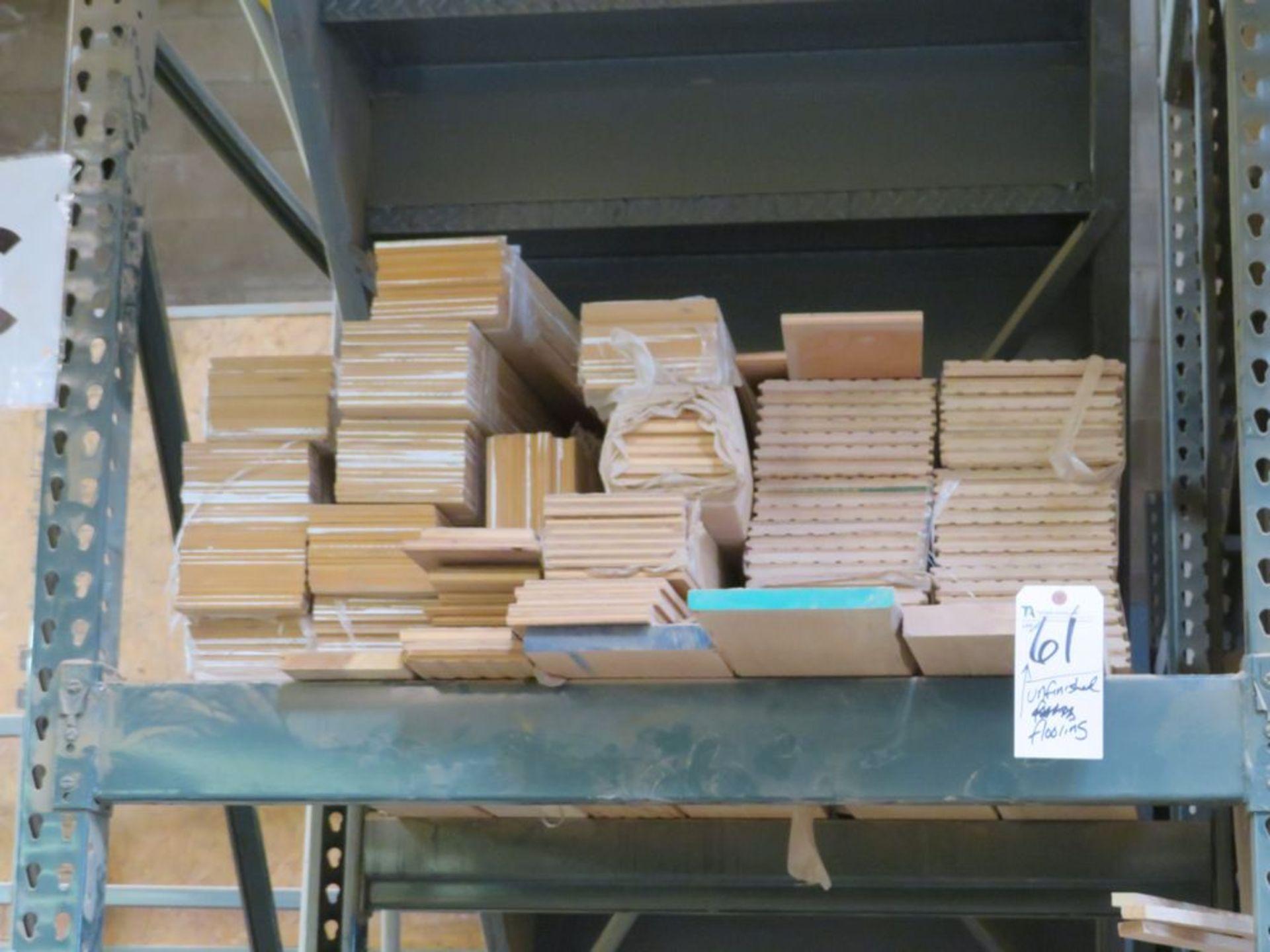 Lot 61 - (Lot) Unfinished Flooring Planks, Sel Cut