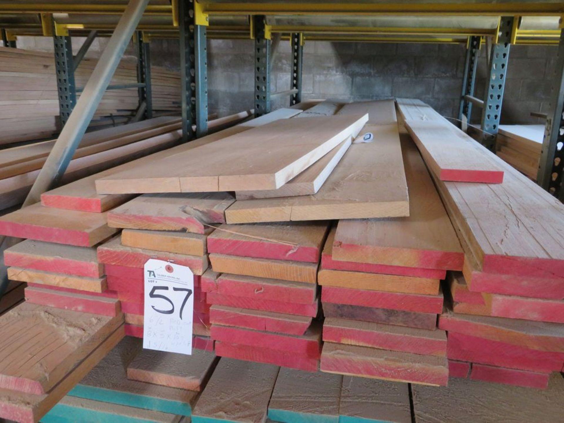 Lot 57 - (Lot) Red Oak (Grade Sel) Cut Straight Line