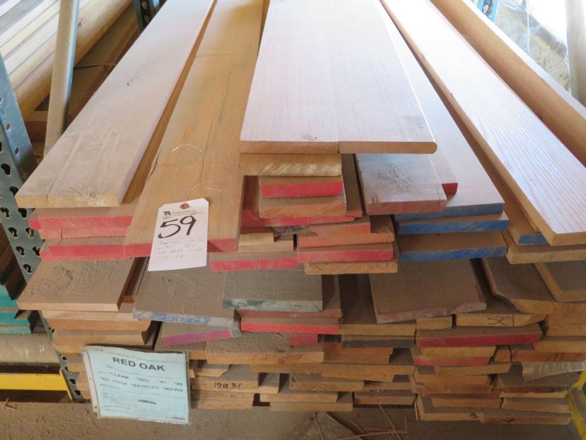 Lot 59 - (Lot) Red Oak (Rift Grade Sel) Cut Random