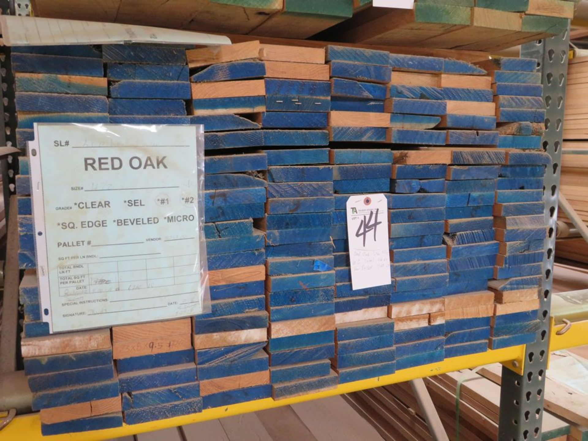 Lot 44 - (Lot) Red Oak #1-#2 Straight Line, S4S