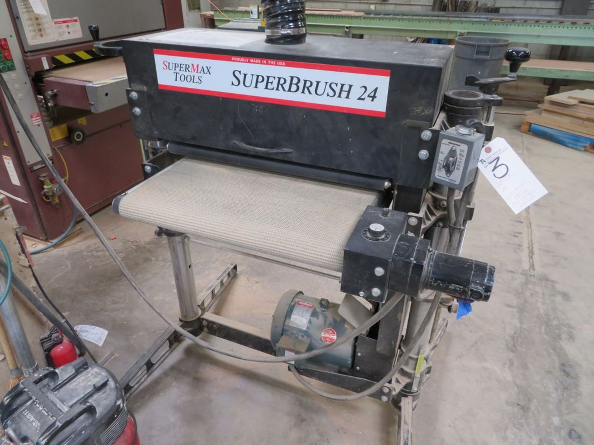 Lot 3 - Super Max 24'' Super Brush System, Var. Spd.