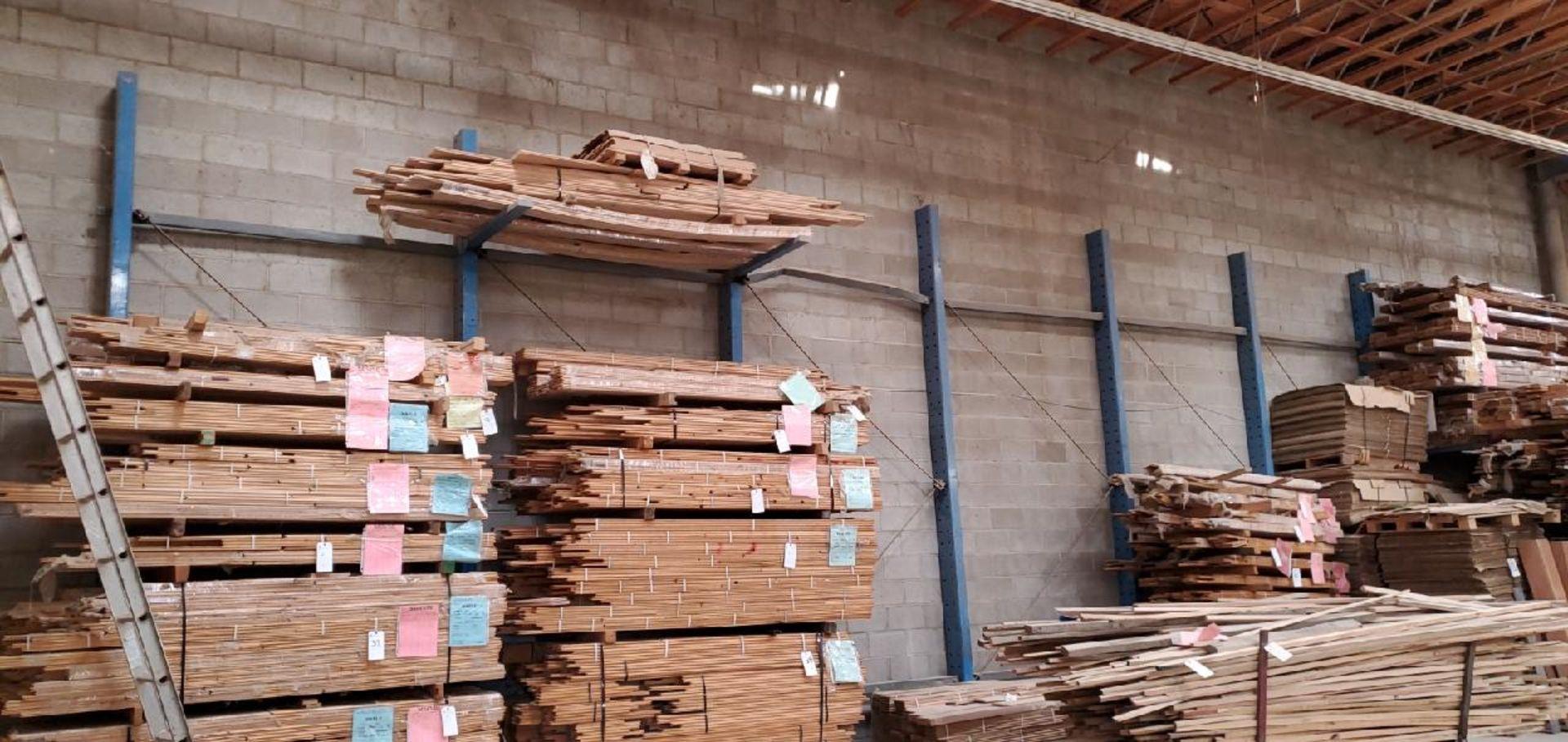 Lot 34a - Cantilever Rack, 12'H x 30'L (No Contents)
