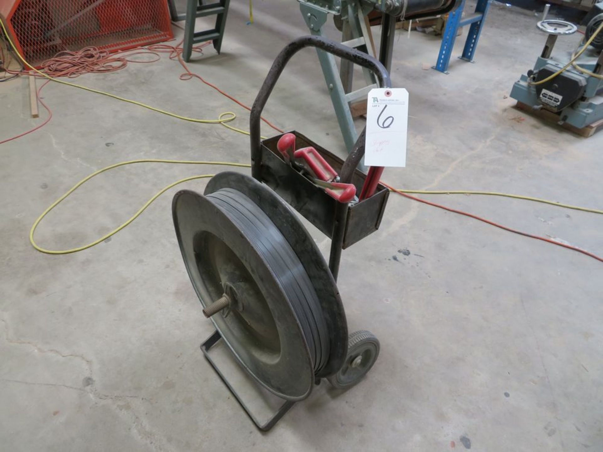 Lot 6 - (Lot) Strapping Unit w/ Tools