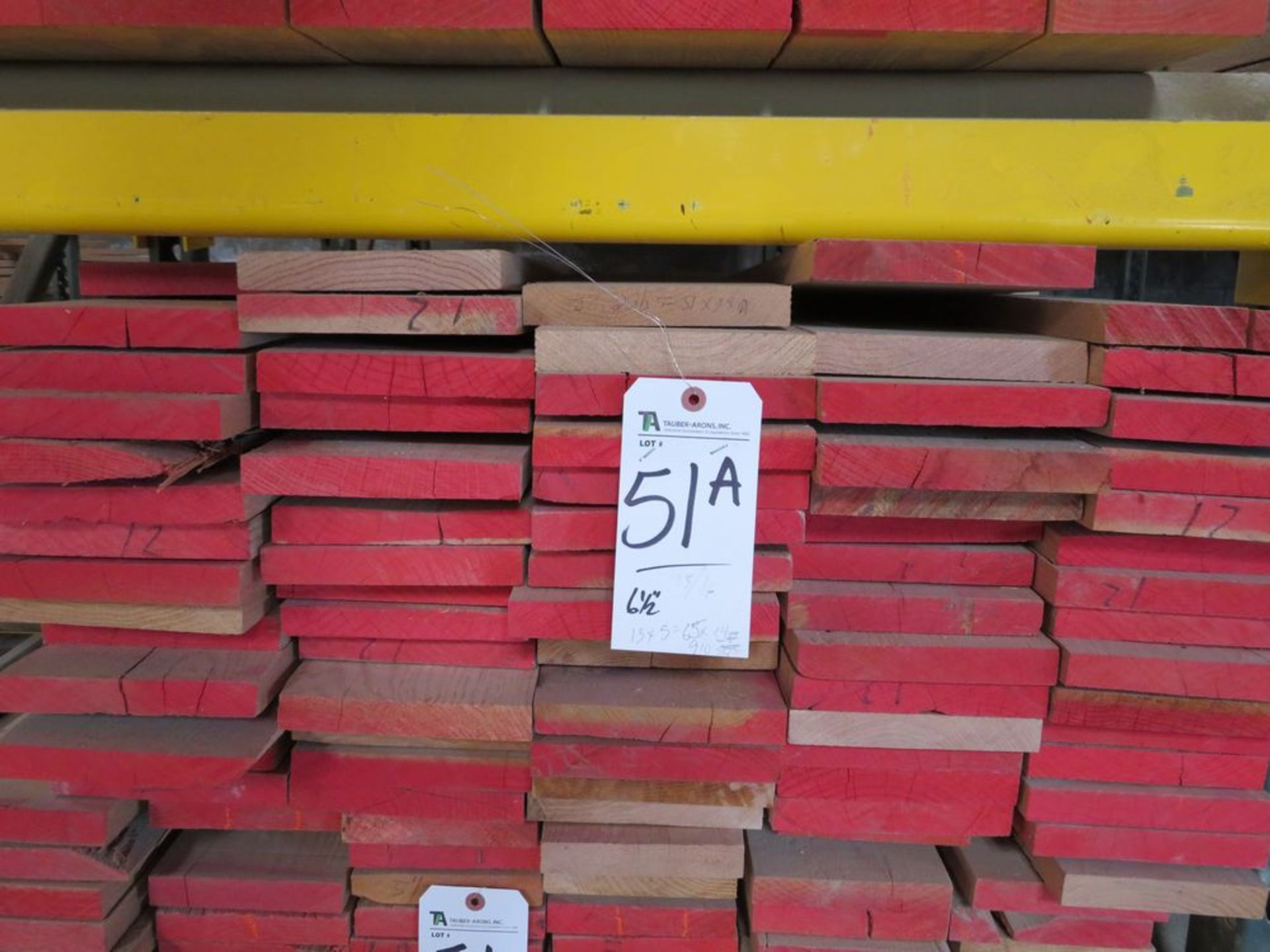 Lot 51a - (Lot) Red Oak (Grade Sel Rift S4S), Thickness