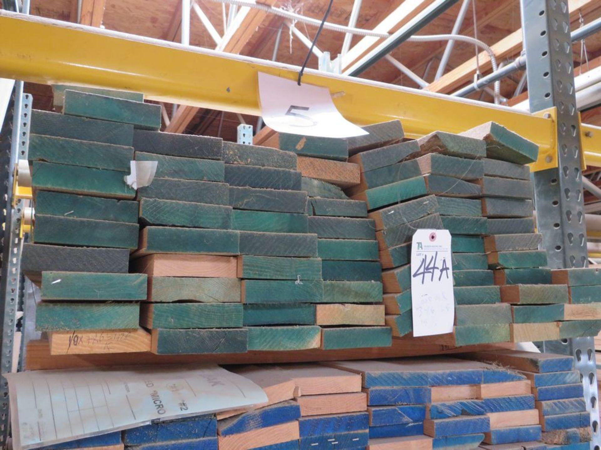 Lot 44A - (Lot) Red Oak Cut Straight Line, Thickness