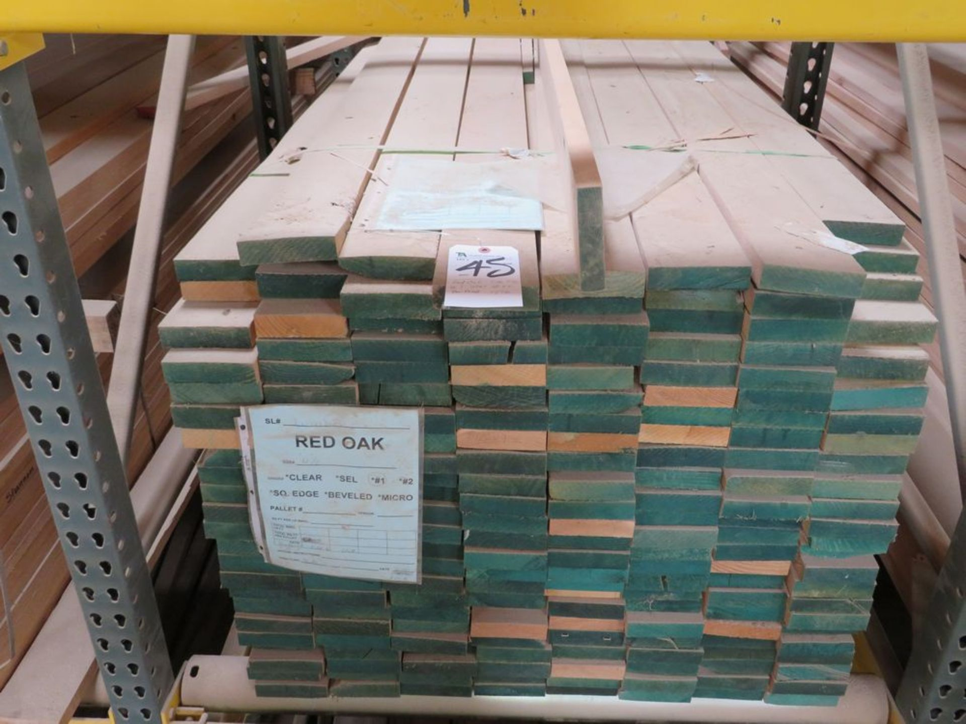 Lot 45 - (Lot) Red Oak (Grade Sel S2S), Rough and