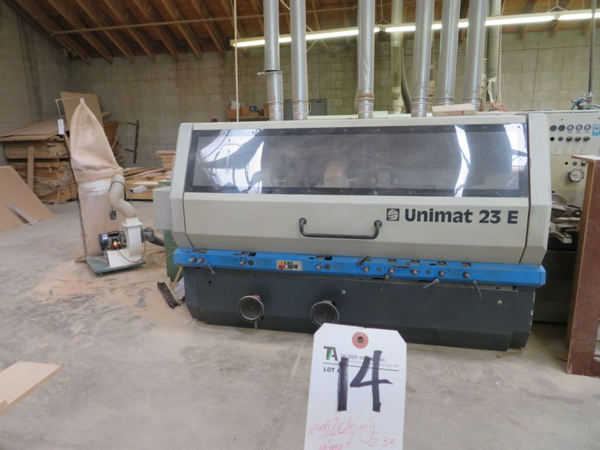 Lot 14 - (2004) Weinig Unimat 23E, 223mm Wide, 160mm