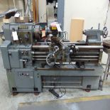 Webb 17''G x 40'' Gap Bed Engine Lathe w/ 3-Jaw Chuck, Tailstock, Faceplates; S/N 9-8107-04