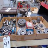 (Lot) Mill Tooling & Cutters (3 Boxes)