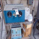 S.S. White Sand Blast Cabinet w/ Portable Rack