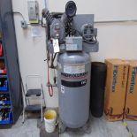 IR mod. T30, 7 1/2hp Vertical Air Compressor S/N 30TC903619