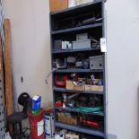 (Lot) Shelf w/ Misc. Contents