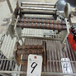 (Lot) Glass Tooling Rollers