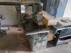 (Lot) Rockwell 12'' Table Saw w/ Fencer & Rockwell Powerfeed Unit