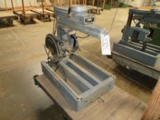 (Lot) Rockwell Delta 8'' Radial Arm Saw w/ Cart