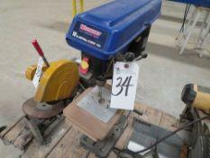 Westward Bench Type 10'' Drill Press, 5-Spd.