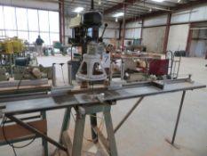 Sun Drill Press w/ Commando Multi Spindle Head, Table & Pneumatic Clamp