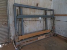 Wood Clamp Station, 56''T x 99''W